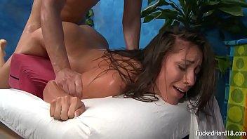 Baise pendant un long massage