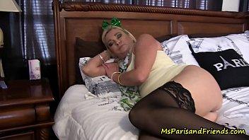 Fête de la Saint Patrick avec maman