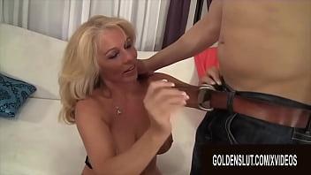 GoldenSlut - Blonde Granny Blowjobs Comp